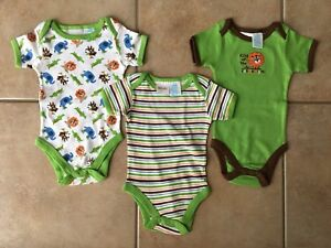 Infant 3-6 month onesies