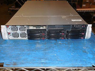 2U Supermicro 2042G-6RF (sc828TQ+-R1400LPB) w/H8QG6-F - 4 x AMD 6134 - (No RAM)