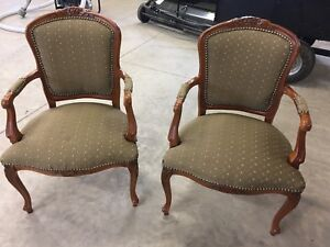 French provincial chairs