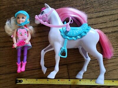 Barbie Friend (Kelly?) With Horse