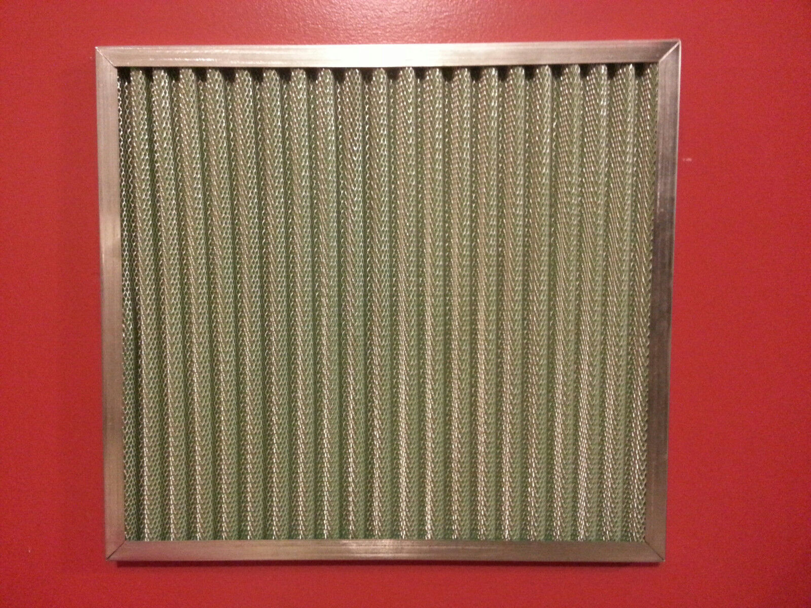 ULTIMATE ALLERGY HOME PLEATED AIR FILTER! WASHABLE PERMANENT REUSABLE FURNACE AC