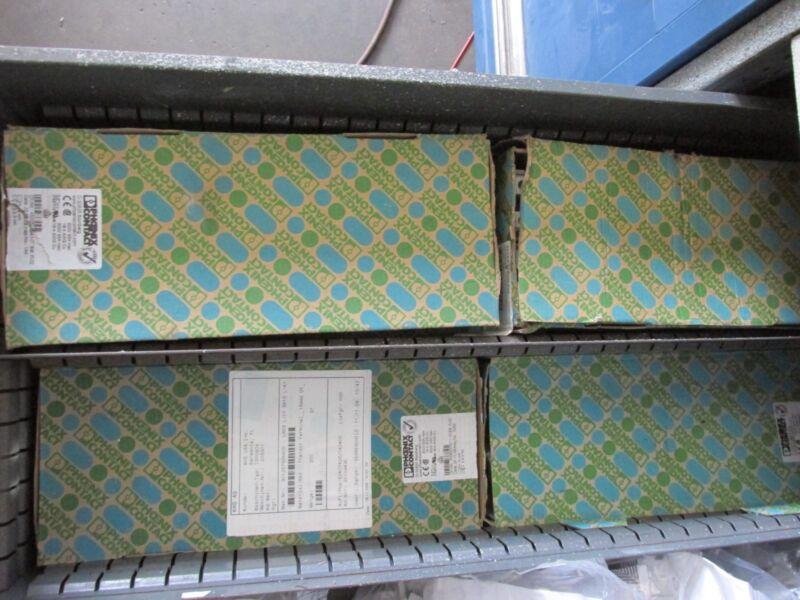 "box of 50 PHOENIX CONTACT # 3044199- UT 16 TERMINAL BLOCK, ""NEW"""