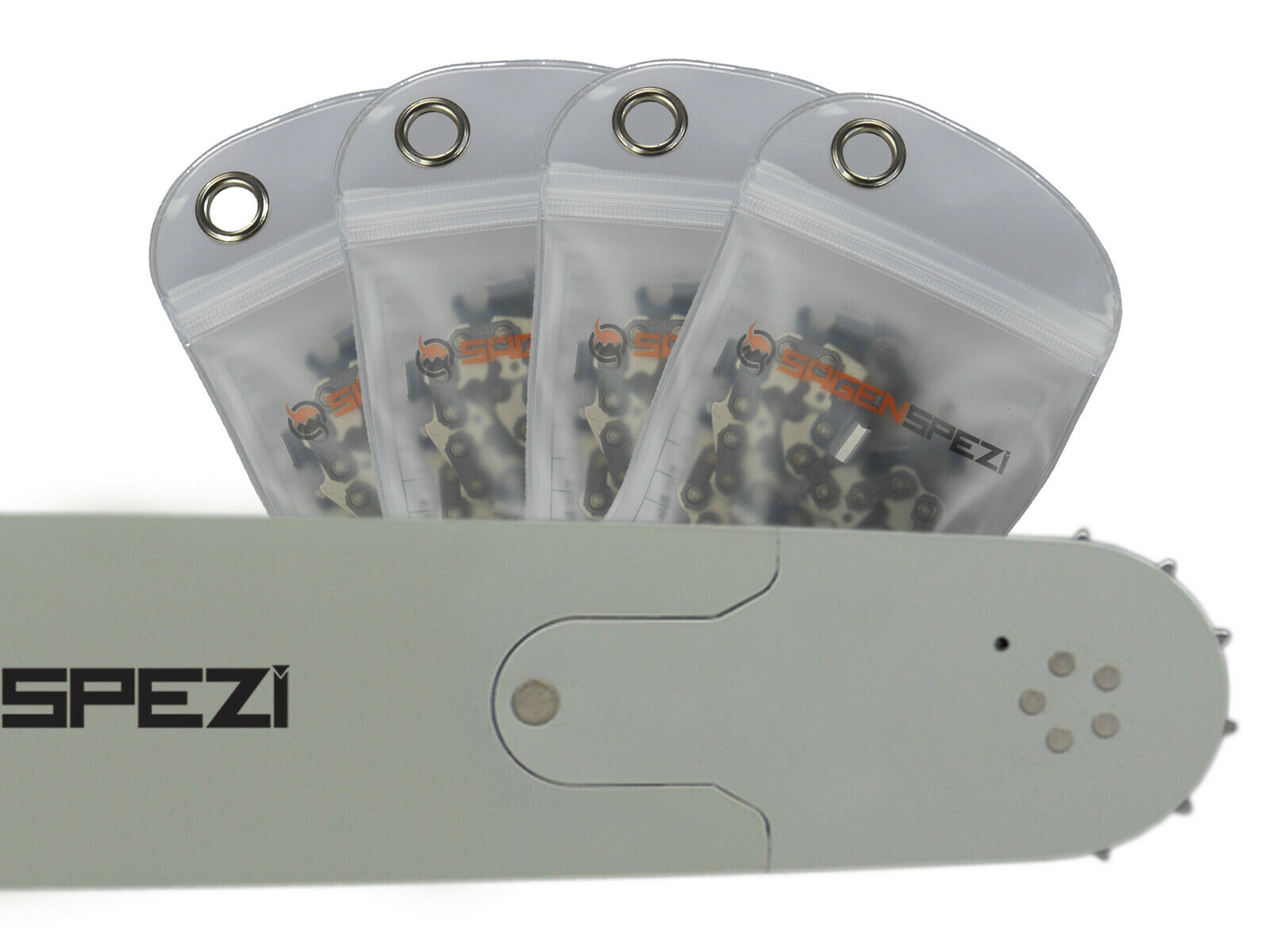 """2 Ketten passend für Stihl 021 MS 210 35 cm 3//8/"""" 50 TG 1,3mm Sägekette Schwert"""