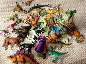 Mix of dinosaurs, etc. - all for $5