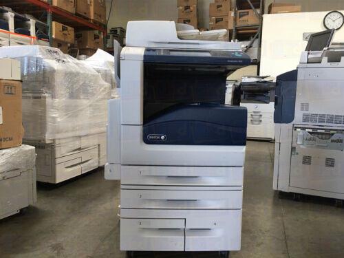 Xerox Workcentre 7855 Color Copier Printer Scanner Multifunction 215k 7835 7845