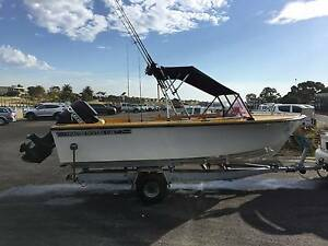 HAINES HUNTER V16R 16ft Fishing Boat Bulleen Manningham Area Preview