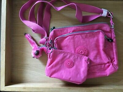 Kipling Small Crossbody SOUTA Shoulder Bag Bubblegum  Pink