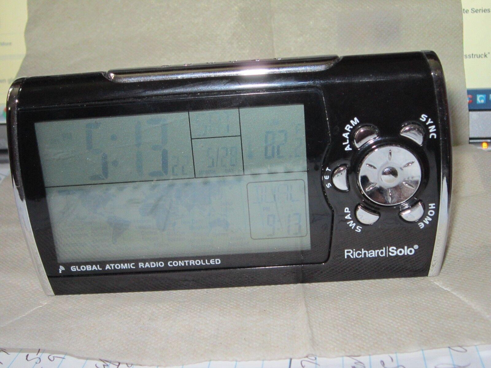 Richard Solo Global Atomic Radio Controlled Clock