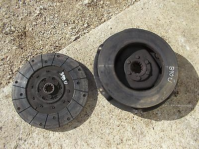 International 340 Utility Tractor Engine Motor Clutch Assembly Pressure Plate