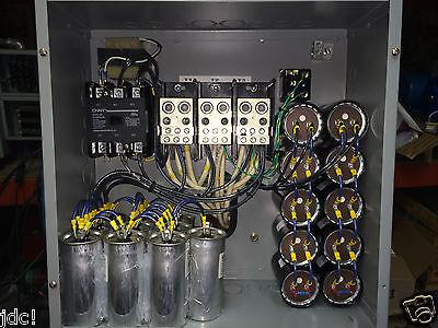 50HP 3 PHASE CNC ROTARY PHASE CONVERTER  10 year warranty!