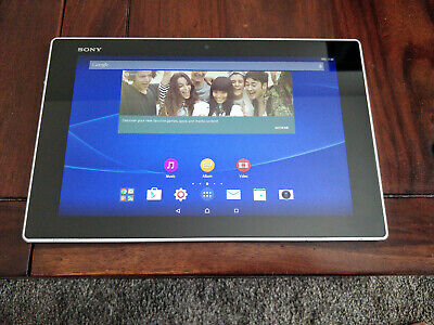 """Sony Xperia Tablet Z White SGP312 - 10.1"""" 32GB Android - Tablet Only - Used"""