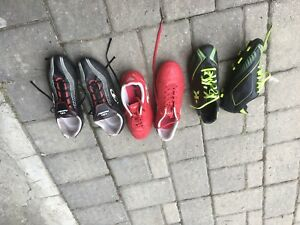 Kid soccer boots shoes cleats Sizes 5.5 5 4.5 7.5