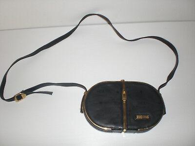 5 Kleine Leder (HCL Vintage Clutch kleine Ledertasche  12,5x20x4 cm, neuwertig )