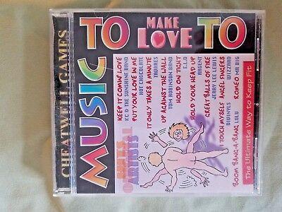 CD, MUSIC TO MAKE LOVE TO !   VERY RARE CD    (83)
