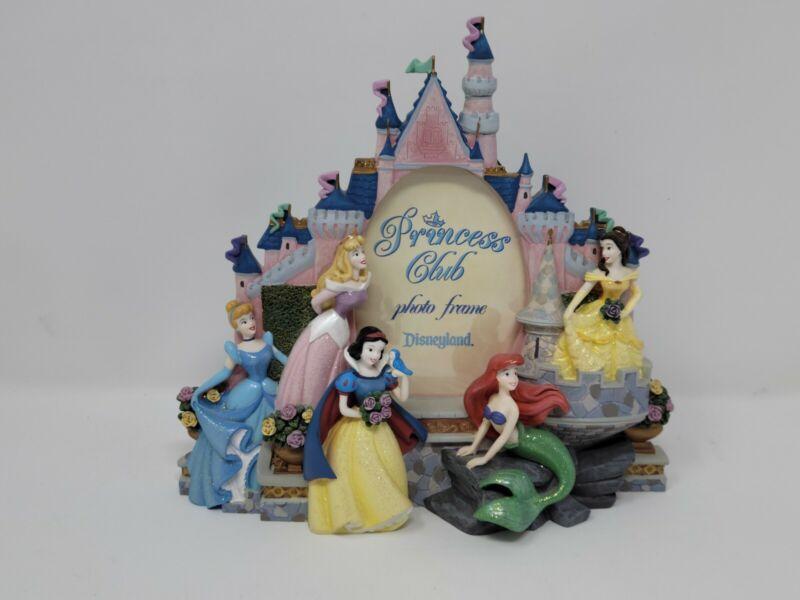 Disney Princess 3D Castle Photo Frame ~ Resin ~ DISNEYLAND