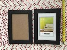 2 x small black photo frames Strathfield Strathfield Area Preview