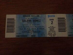 Selling 2 x Selena Gomez Tickets.. Dancefloor Rockdale Rockdale Area Preview