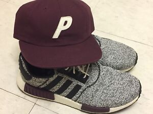 NMD R1 Champs exclusive sz12 & Palace hat (only till June 22nd)