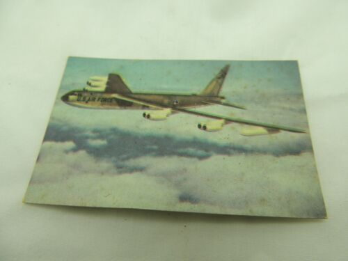 U.S. Air Force Scouting Golden Anniversary 1907 - 1957 B-52 Stratofortress card