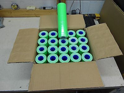 1 Case Of Fl-green Labels For Motex 5500  200 Rolls