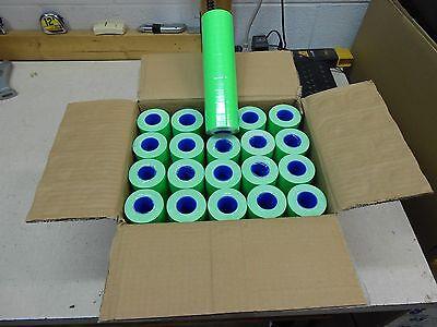 1 Case Of Fl-green Labels For Motex 5500  200 Rolls