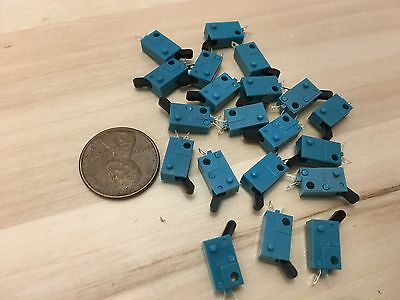 20 Pieces Kfc-v-101 Micro Limit Switch Lever Tiny Small Normally Open No C22