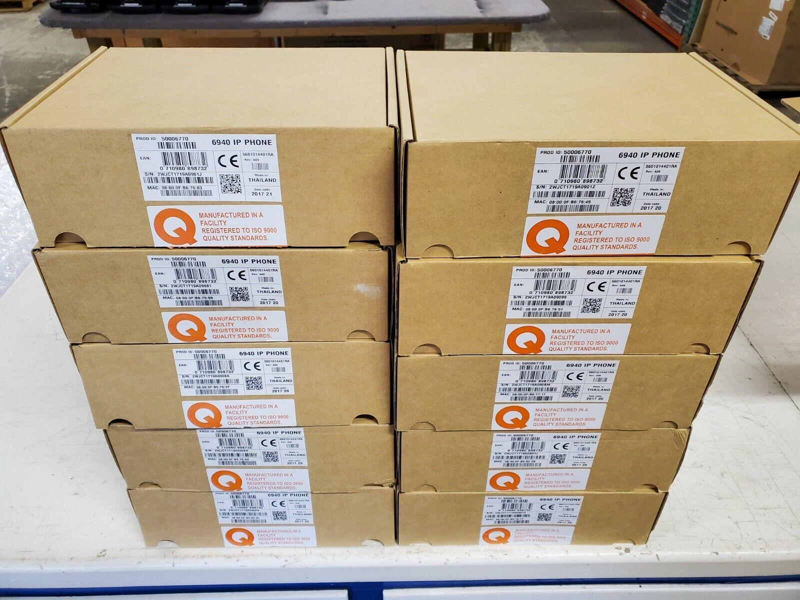 Mitel 6940 IP Telephones New in Box