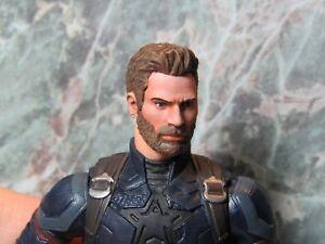 HEAD ONLY Marvel Legends Custom painted Head Captain America Infinity War