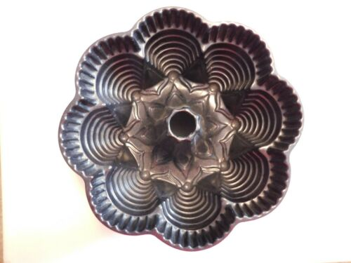 "Nordic Ware Fiesta Party Pan 9 1/2"" x 3 3/4"" Bundt Cake Made in Minneapolis, USA"