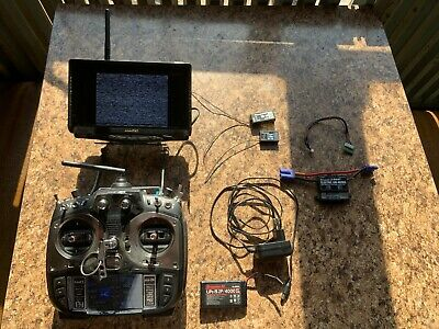 Graupner MZ 24 with Lilliput FPV Monitor & Extras