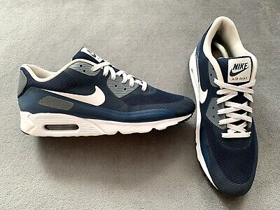 Genuine Authentic Men's Rare Nike Air Max 90 Ultra Essential Obsidian Size...