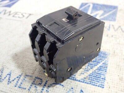 Square D Qo330 3 Pole 30 Amp 240 Volt Type Qo Plug-in Circuit Breaker Black