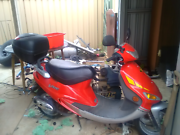 Kymco Vibe 50cc (Bugscooter) Smithfield Plains Playford Area Preview
