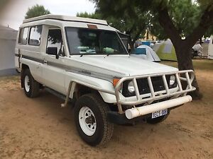 1988 Toyota Landcruiser troopy poptop campervan Shelley Canning Area Preview