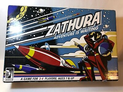 Zathura Adventure Is Waiting Board Game Pressman 2005 FAST SHIP 100% COMPLETE, used for sale  Tacoma