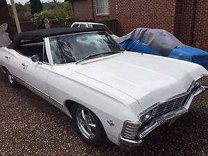 Right Hand Drive - 1967 Chevrolet Impala Convertible! Castle Hill The Hills District Preview