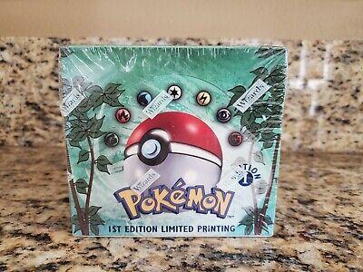 Pokémon 1st Edition Jungle Booster Box, Factory Sealed