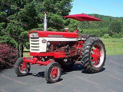 Tu56r New Universal Tractor Red Deluxe Complete Umbrella Set-for Farmall Case Ih