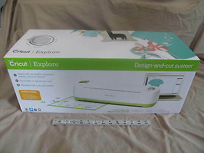 (1) NEW Cricut Explore Bundle Cutting Machine Bluetooth Adapter Scraper Mats!