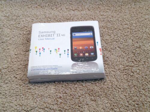 Samsung Exhibit ll4G user manual-GH99-99152A