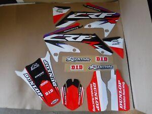 FLU Designs graphics Team Honda CRF250R 2004 2005 2006 2007 2008 2009 CRF250X