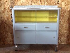 Retro vintage kitchen cabinet
