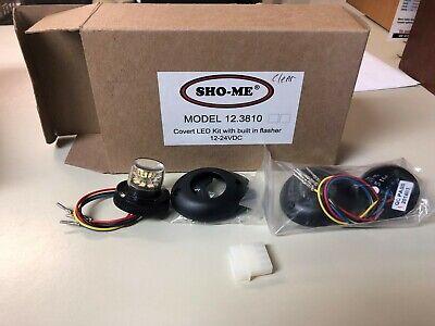 Sho-me Model 12.3810 Covert Led Kit Wbuilt In Flasher 12-24vdc