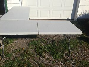 70 Mile yard sale Tables for Tent