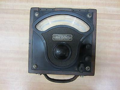 General Electric 757277 Antique Amp Meter Vintage Industrial 39058