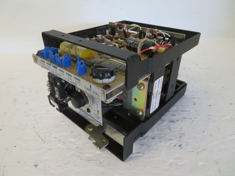 General Electric 12SFC178A2A Time Overcurrent Relay GE SFC 1.0 60 Hz