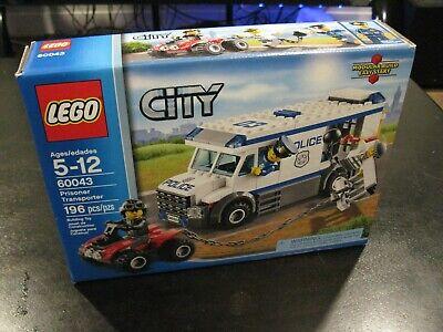 LEGO City 60043 Prisoner Transporter Brand New In Sealed Box SAVE BIG FREE SHIP!