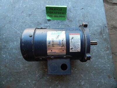 Leeson 14hp Direct Current Permanent Magnet Motor 1750rpm 90volt Framelss56c
