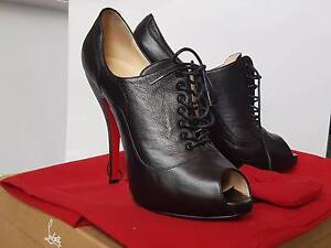 *AS NEW* Christian Louboutin Lady Derby Boots - Size 37 Caulfield Glen Eira Area Preview
