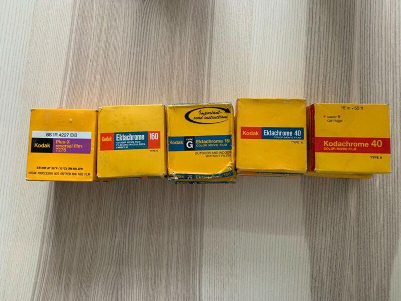 NOS, Lot of 10 Packs of Super 8 Film Cartridges SEALED